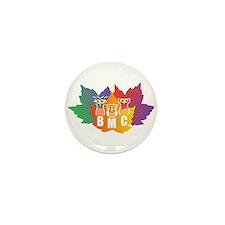 BMC Autumn Owls Mini Button (10 pack)