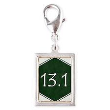 Green 13.1 Hexagon Charms
