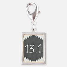 Gray 13.1 Hexagon Charms
