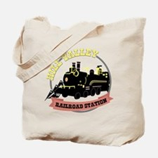 Back To The Future Train Tote Bag