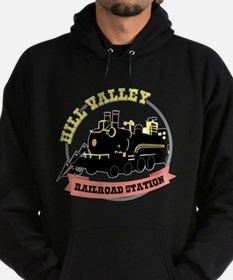 Back To The Future Train Hoodie (dark)