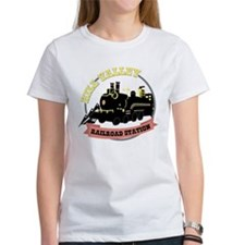 Back To The Future Train T-Shirt