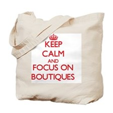 Funny Keep calm and shop on Tote Bag