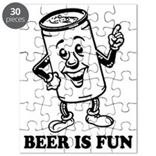 Cute Beer pong Puzzle