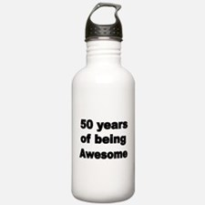 50 years of being Awesome Water Bottle