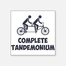 Tandem Bike Complete Tandemonium Sticker