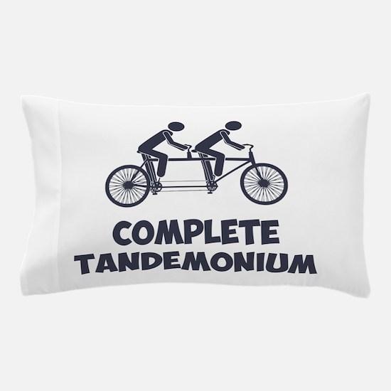 Tandem Bike Complete Tandemonium Pillow Case