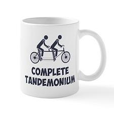 Tandem Bike Complete Tandemonium Mugs