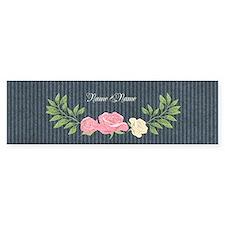 Vintage Roses Bumper Sticker