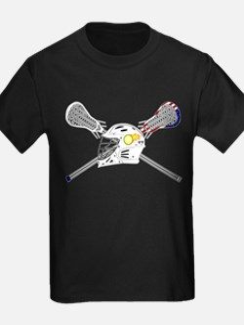 Lacrosse Helme T-Shirt