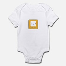 Marshmallow Infant Bodysuit
