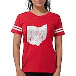 Reward Sam Bass Women's V-Neck Dark T-Shirt