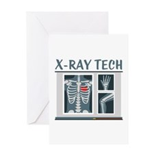 X-Ray Tech Greeting Cards