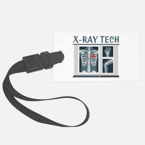 X-Ray Tech Luggage Tag
