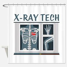 X-Ray Tech Shower Curtain