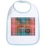 Wilson Tartan & Badge Bib