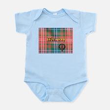 Wilson Tartan & Badge Infant Bodysuit