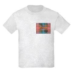Wilson Tartan & Badge Kids Light T-Shirt