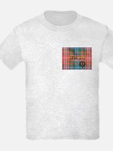 Wilson Tartan & Badge T-Shirt