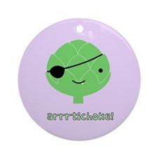 Arrrtichoke! Ornament (Round)