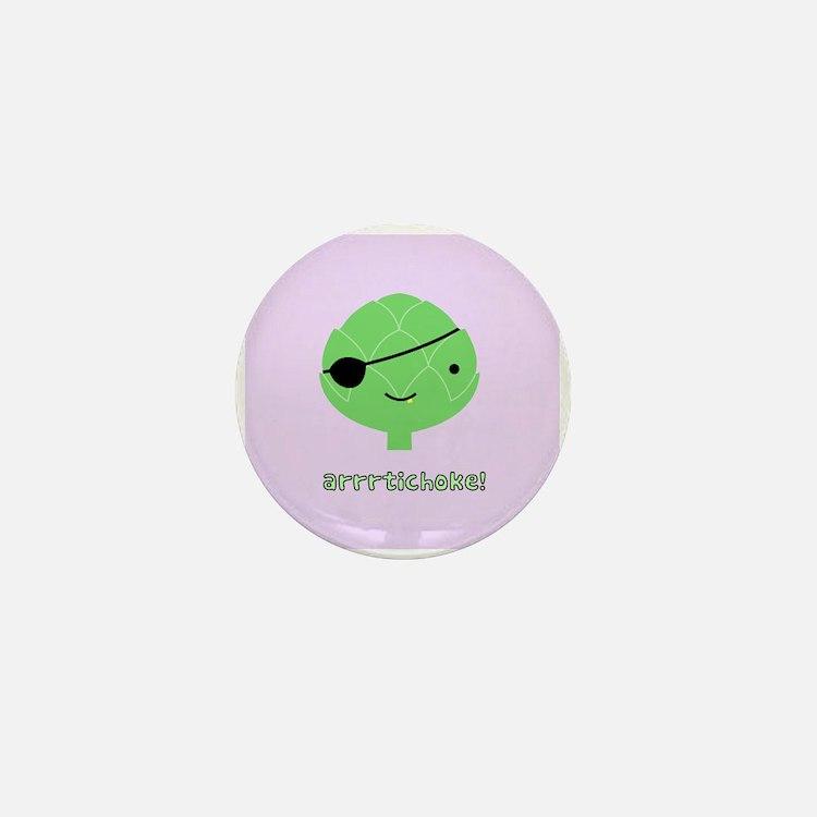 Arrrtichoke! Mini Button