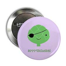 """Arrrtichoke! 2.25"""" Button (100 pack)"""