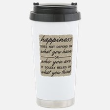 What You Think Travel Mug
