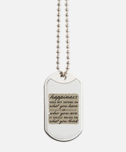 What You Think Dog Tags