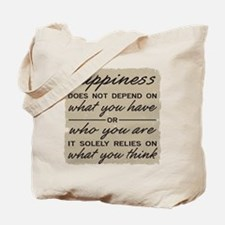 What You Think Tote Bag