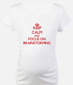 Keep Calm and focus on Brainstorming Shirt