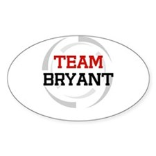 Bryant Oval Decal