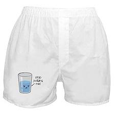 Cute Glass half empty Boxer Shorts
