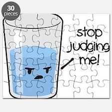 Cute Glass half empty Puzzle