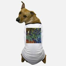 VAN GOGH IRISES Dog T-Shirt