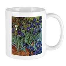VAN GOGH IRISES Small Mugs