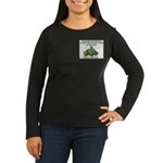 Irish Powered Women's Long Sleeve Dark T-Shirt