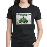 Irish Powered Women's Dark T-Shirt