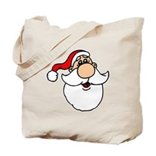 Goofy Santa Head.png Tote Bag