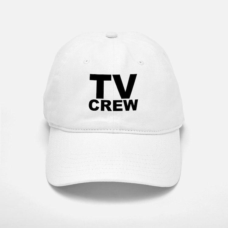 TV Crew Baseball Baseball Cap