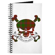Stewart Tartan Skull Journal