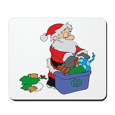 Santa recycles!.png Mousepad