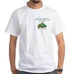 Irish Powered White T-Shirt