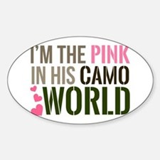 Im the Pink in his Camo World Decal