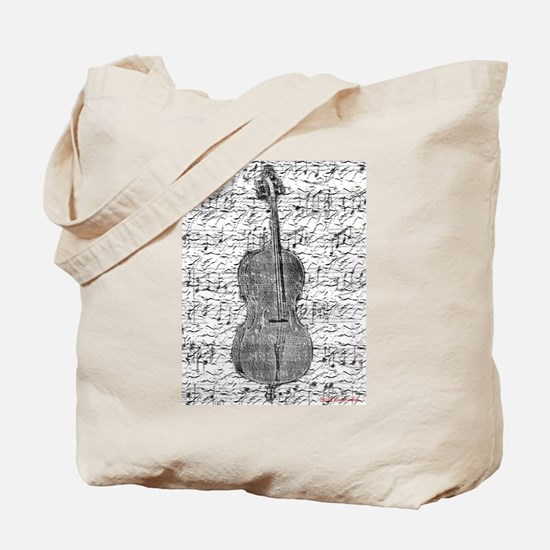 """Sheet Music"" Tote Bag"