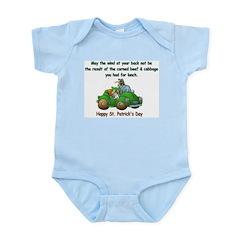 Irish Powered Infant Bodysuit