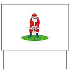 Santa plys golf.png Yard Sign