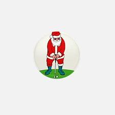 Santa plys golf.png Mini Button (100 pack)
