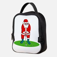 Santa plys golf.png Neoprene Lunch Bag