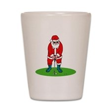 Santa plys golf.png Shot Glass