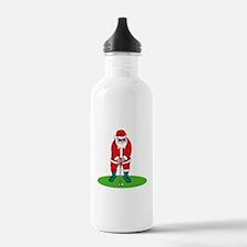 Santa plys golf.png Water Bottle